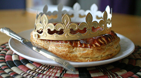 French Galette for Epiphany