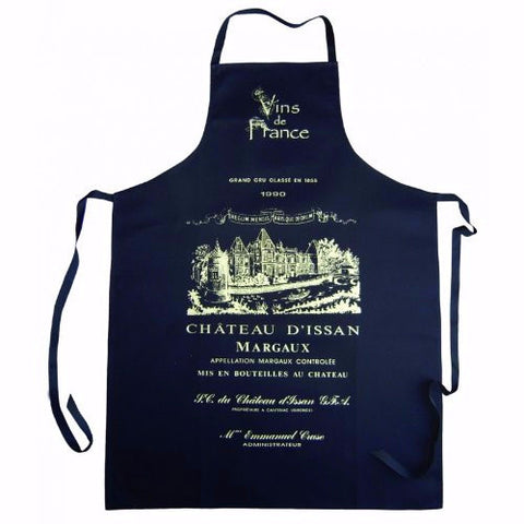 Large Black Apron Chateau Issan Margaux, Bordeaux
