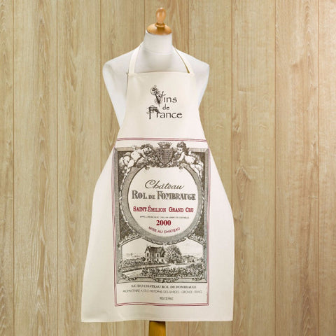 Large Aprons labels and vineyards
