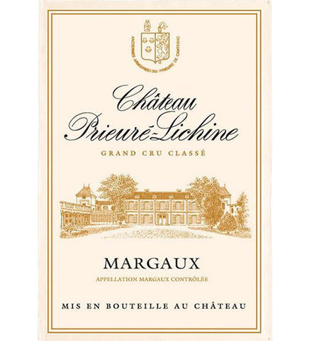 Bordeaux - Margaux Château Prieuré Lichine - Kitchen Towel