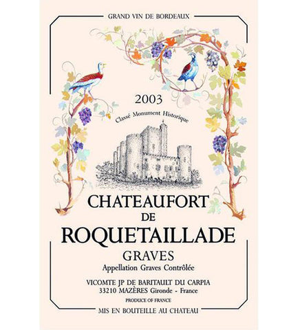 Bordeaux Pomerol Château Le Moulin kitchen towel