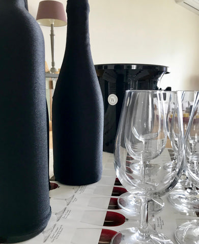 This is how your blind tasting table will look! Elegant!