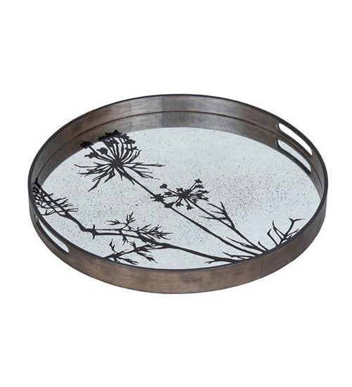 Thistle - Aged Mirror Tray