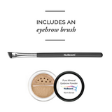Mineral Eyebrow Powder & Angled Brush Warm Blonde