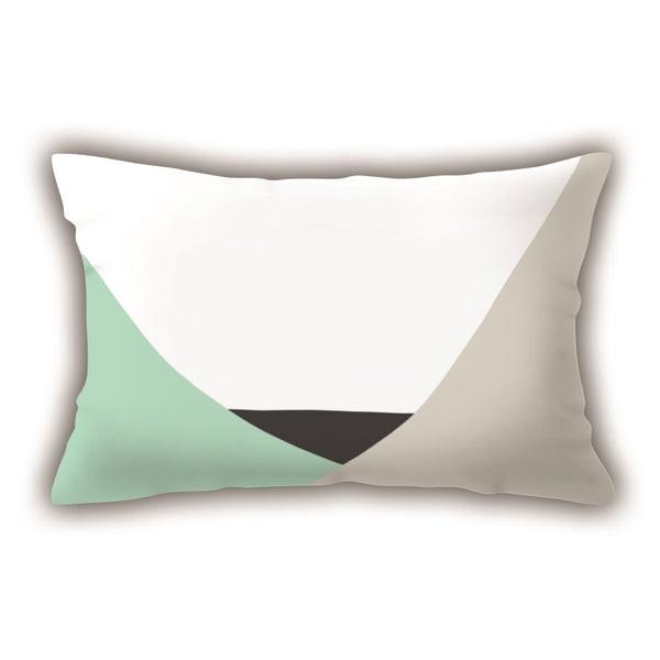 Colorful Digital Printed Rectangle Pillow