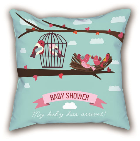Baby Shower Digital Printed Child Pillow
