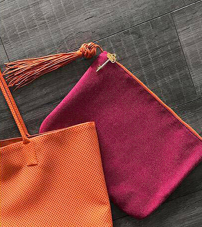 Fuschia Clutch