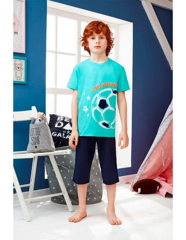 Doni Boy Printed Pyjamas Set 11521