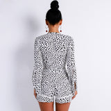 V Neck Speaker Sleeve  Elegant Playsuit Back Shopziy