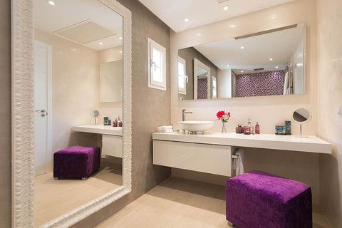 Purple Bathroom Villa Bendinat 2