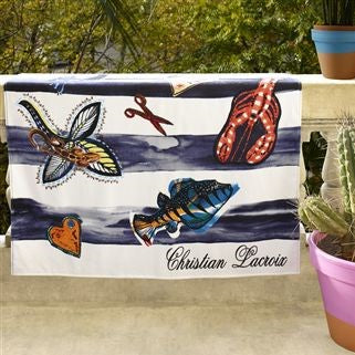 Christian Lacroix Natical Beach Towel