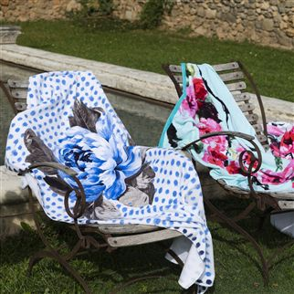 Designers Guild Flower Beach Towels