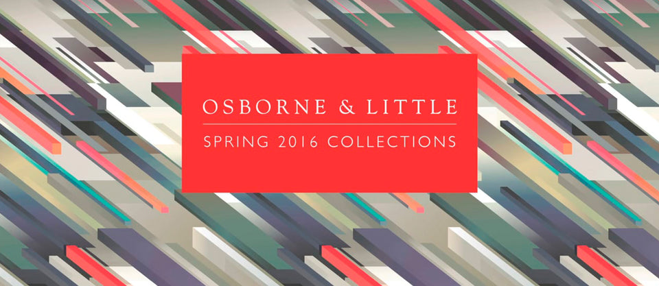 Osbourne and Little Spring 2016 Collection