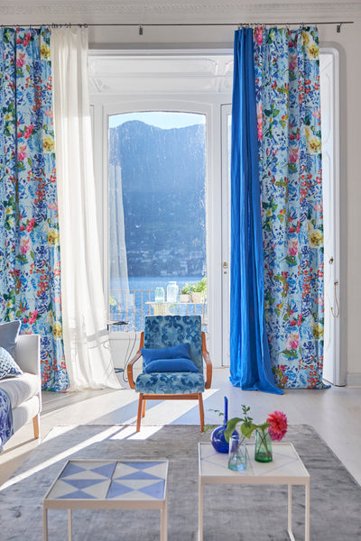 Designers Guild Spring 2017 Floral Curtains