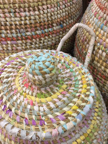 EA Deco Afripe Basket Close Up