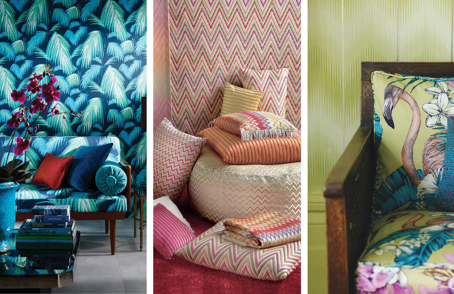 Soft furnishings and Wall coverings