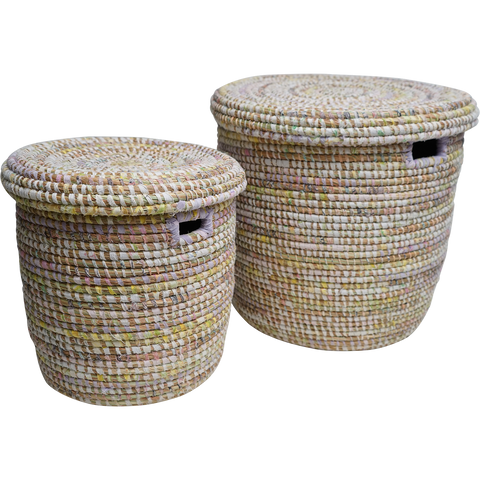 EA Deco Afripe Tall Baskets