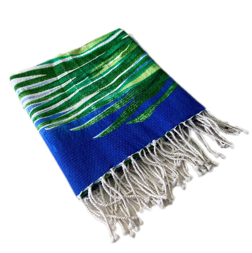 Beach Towel Bora Bora Fouta Blue