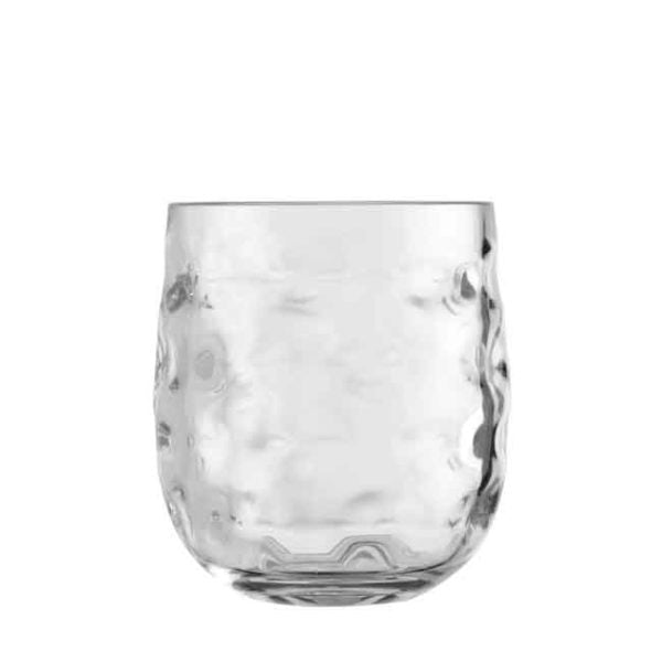 Water Glass Moon Ice White - Set of 6