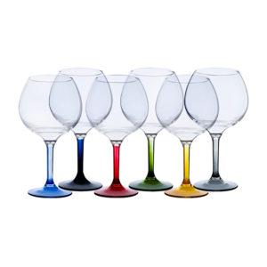 Gin Glass set of 6 Party Colours