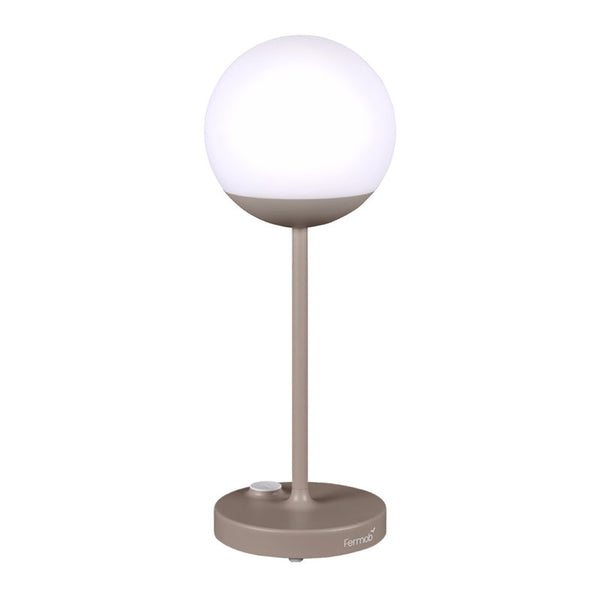 Lamp Moon Outdoor LED Rechargeable Nutmeg Beige H40