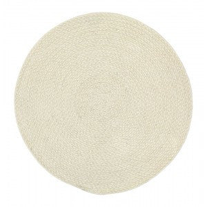 Dixie Placemat Braid Ivory