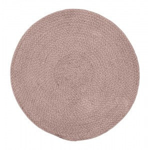 Dixie Placemat Braid Pink