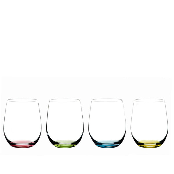 Riedel O'Wine Tumbler Glass Happy'O - Set of 4