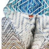 Missoni Bathrobe Tolomeo 170 Blue Size L