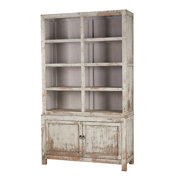 Shelving Unit Cabinet Wood 140x50x240cm