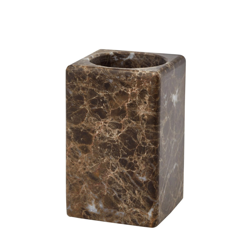 Toothbrush Holder Hammam Brown Marble