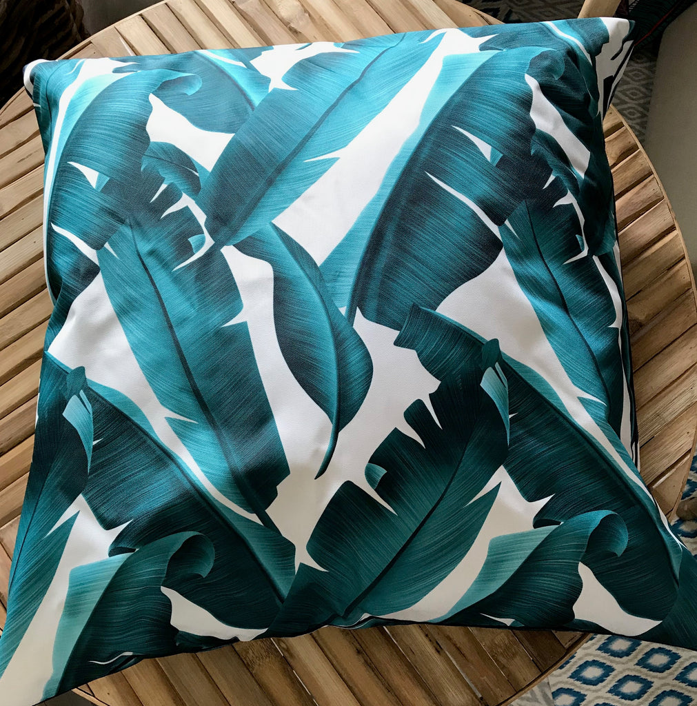 Cushion Outdoor Palm Leaves 45x45cm