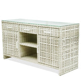 Sideboard Martin 170x60x90cm with Glass