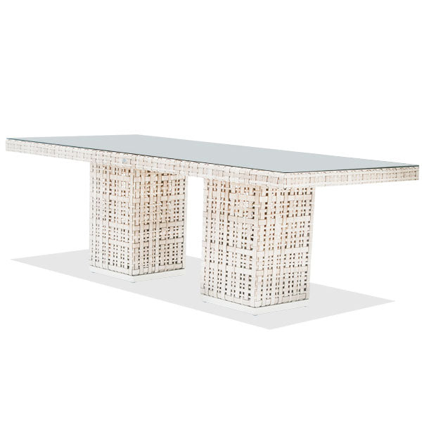 Dining Table Martin 220x100cm with Glass
