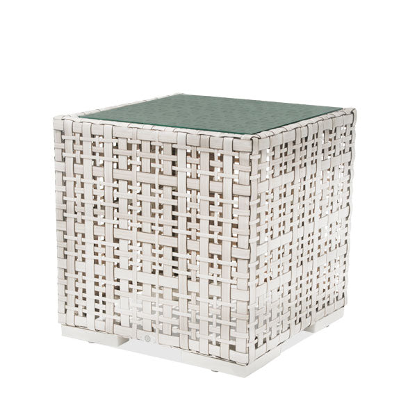 Side Table Martin 62x62cm with Glass
