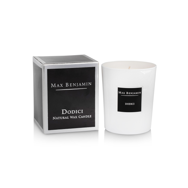 Max Benjamin Scented Candle Dodici