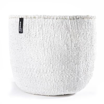 Basket White Large 35x40cm