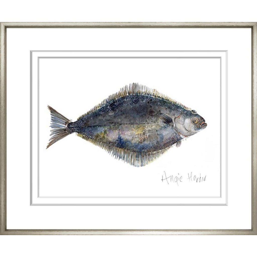 Art in Oak Frame Waikiki Beach 69x79cm