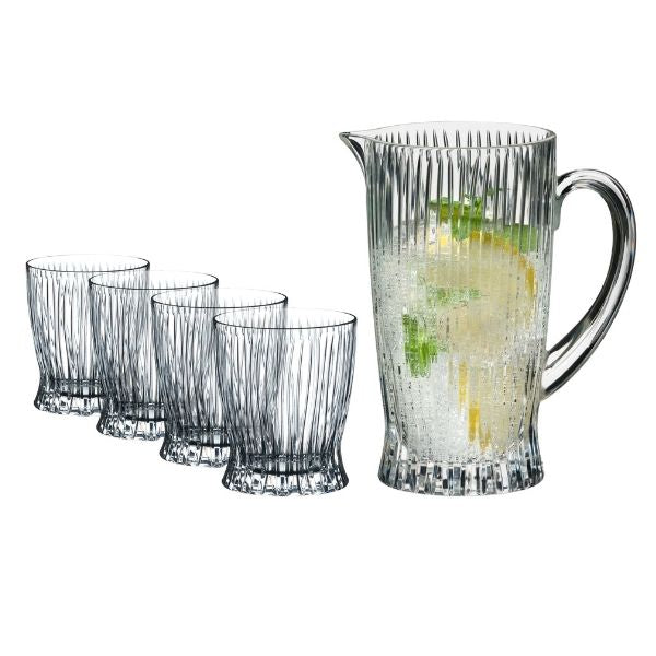 Riedel Fire Whisky Glass - Set of 4 + Pitcher