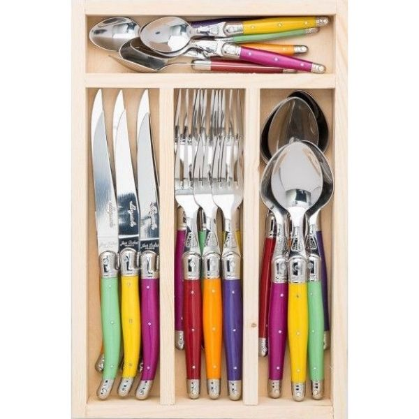Cutlery Drawer 24 Pieces Fruity Mix 1'2 MM STD