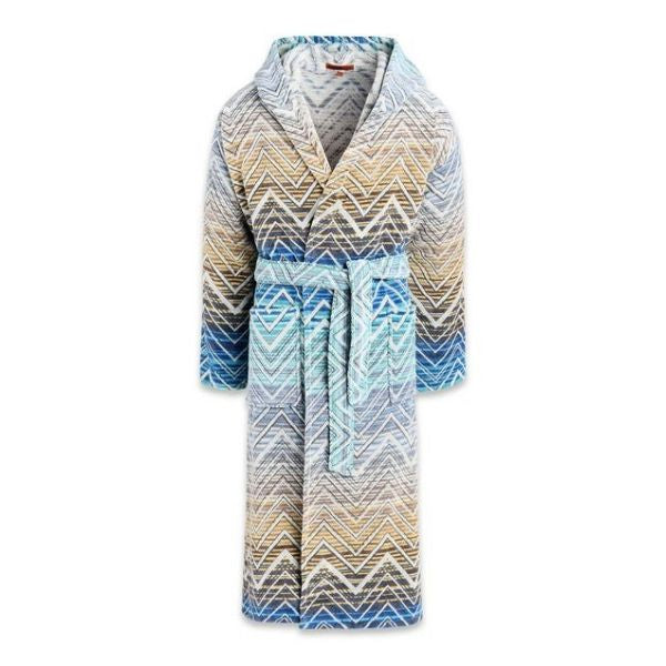 Missoni Bathrobe Tolomeo 170 Blue Size M