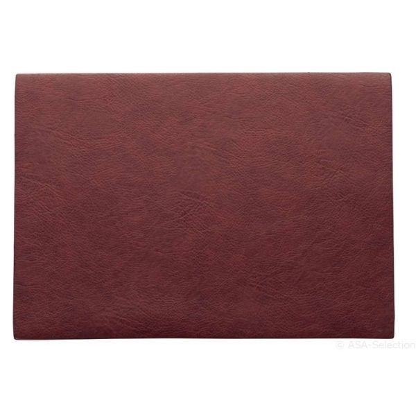 Placemat Rosewood Red