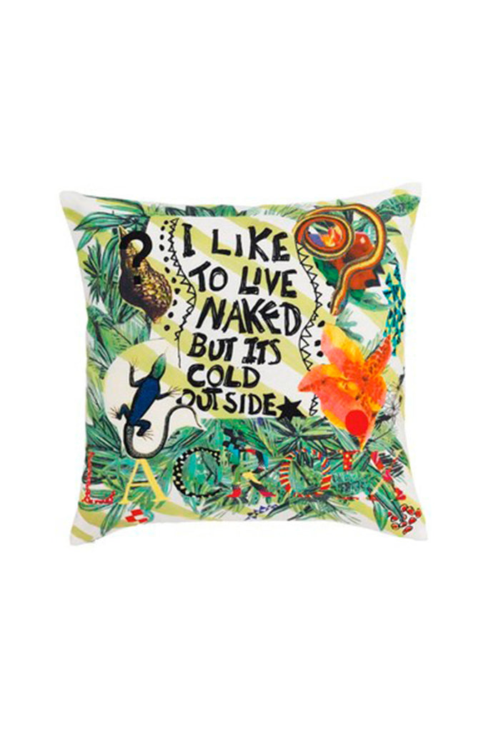 Christian Lacroix Jungle Naked Cushion