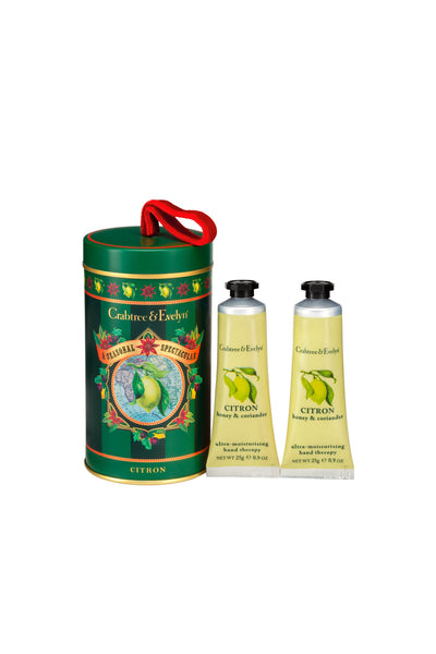 Crabtree & Evelyn Christmas Set 2 Citrus Ultra Moisturizing Hand Therapy