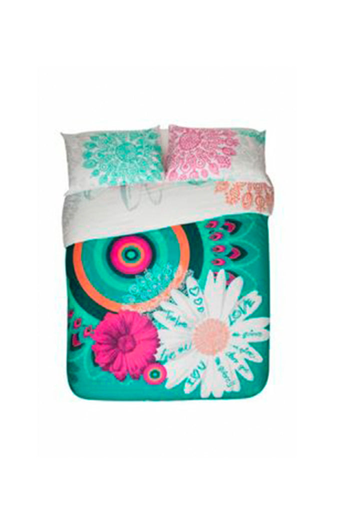 Desigual Margarita Duvet Cover + Pillow Case Set of Bedding