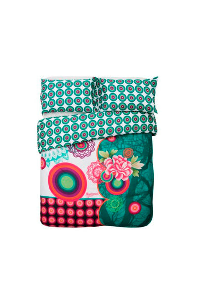 Desigual Galactic Fair Duvet Cover + Pillow Case Set of Bedding
