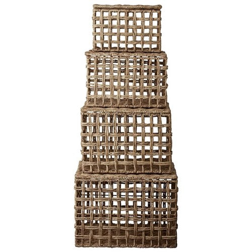 Basket Set Mai Natural - Set of 4