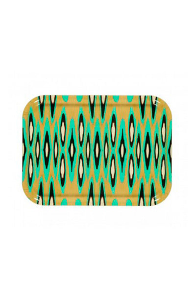 Mariska Meijers Rectangle Coco Ikat Tray