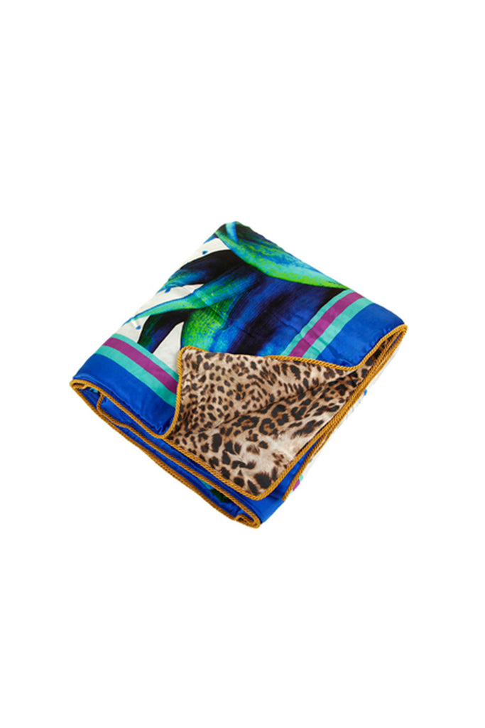 Roberto Cavalli Flaubert Silk Throw