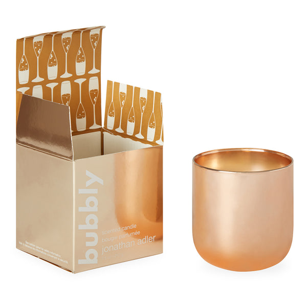 Candle Bubbly by Jonathan Adler - Rose Gold